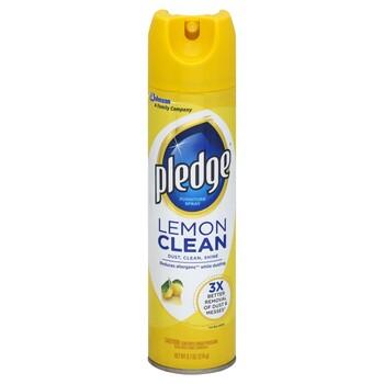 Pledge Lemon 9 7 oz