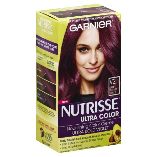 Garnier nutrisse ultra color nourishing hair crème dark intense violet
