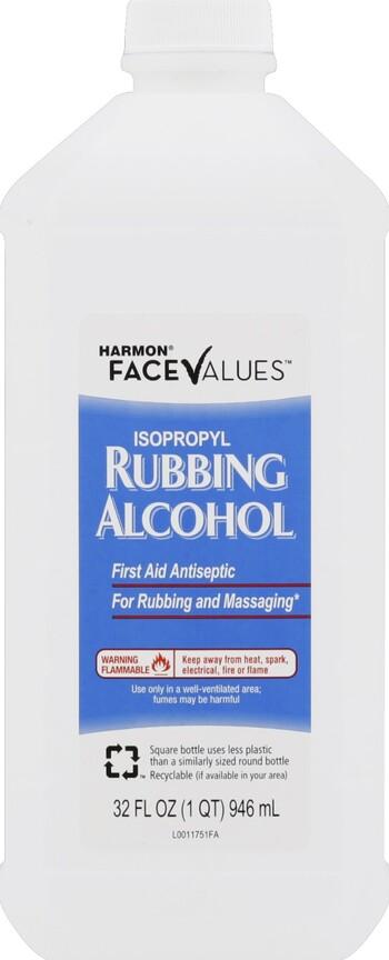 Harmon Face Values 70% Alcohol 32 oz