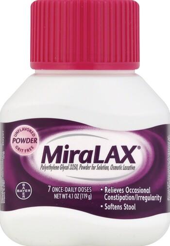 MiraLAX 4 1 oz