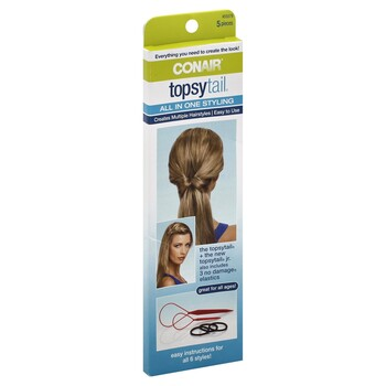 Conair Topsy Tail All-In-One Styling Kit