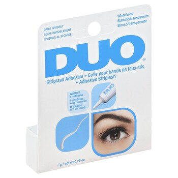 609b0cb33ab Duo Eyelash Adhesive Clear White .25 oz - Harmon Face Values