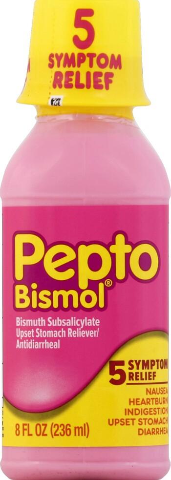 Pepto Bismol Original 8 Oz Liquid Harmon Face Values