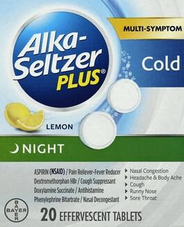 Alka-Seltzer - Harmon Face Values