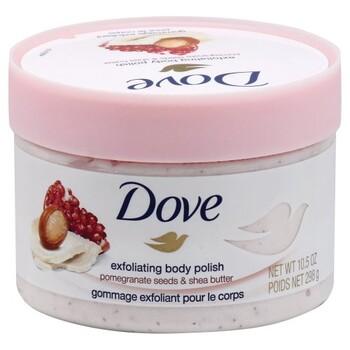 Dove Body Polish Pomegranate Shea Butter 10 Oz Harmon Face Values