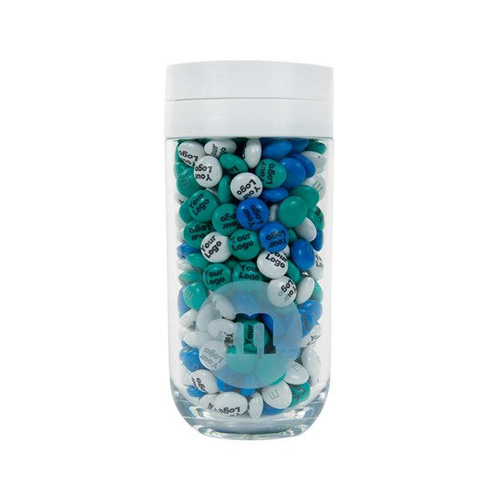 Front view of Personalizable M&M'S Business Gift Jar