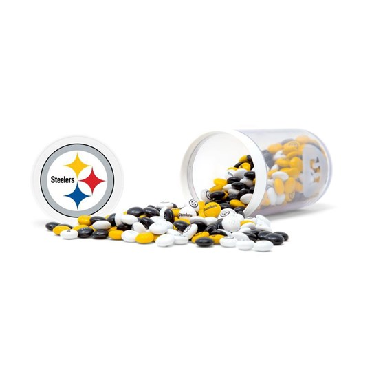 Pittsburgh Steelers NFL M&M'S Candy Gift Jar - Candy spilled