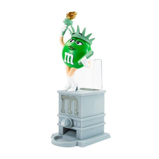 M&M'S Liberty Dispenser - side angle
