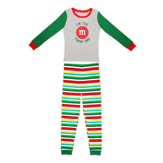 Boys M&M'S Holiday Lounge Set; Front View