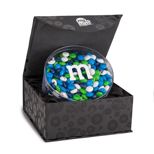 Seattle Seahawks NFL Candy Acrylic in Black Gift Box