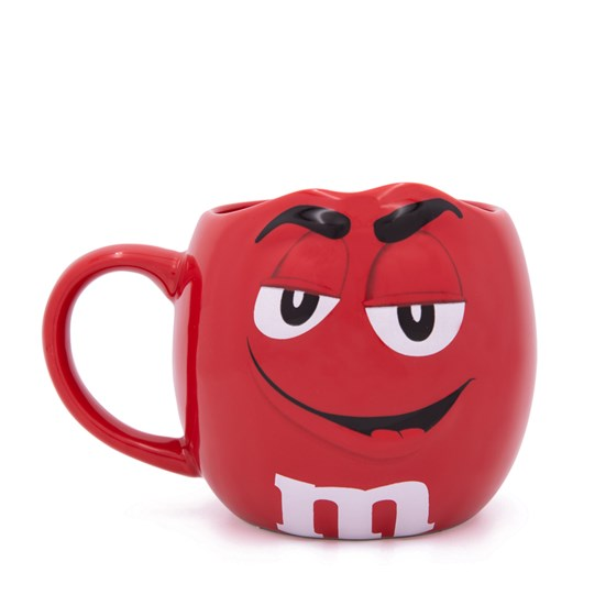 M&M'S Character Figural Mug, Front View of M&M'S Character on Front of Coffee Mug with Handle