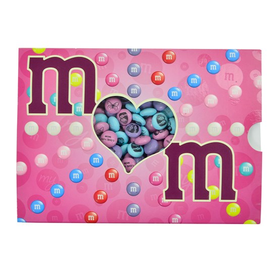 M&M'S Pink Mom Candy Gift Box