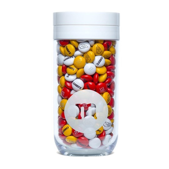 Kansas City Chiefs NFL M&M'S Candy Gift Jar
