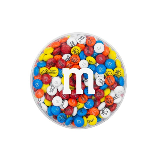 Pre-Designed Birthday M&M'S Round Gift Box