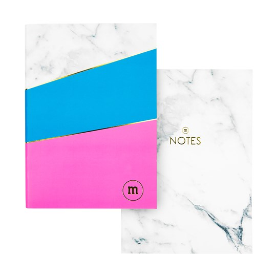 M&M'S Marble Notebook, 2-Pack