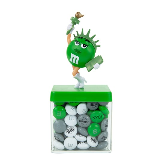Personalizable M&M'S Liberty Cube Gift Box
