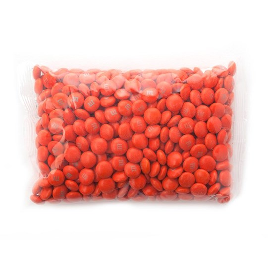 1lb bag of Orange M&M'S Bulk Candy