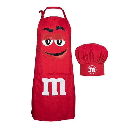 M&M'S Character Apron & Hat Set, Front View of M&M'S Character Apron & Hat in Set