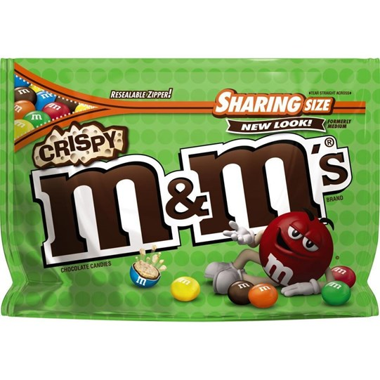M&M'S Crispy Chocolate 8 oz Bag, Sharing Size