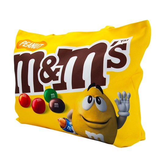Side view of M&M'S Chocolate Tote Bag