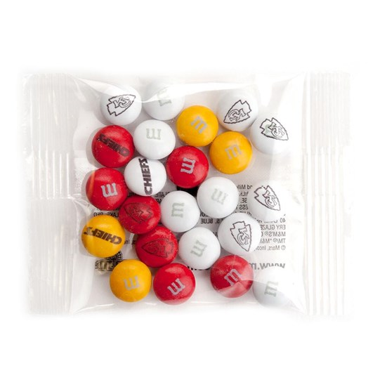 Kansas City Chiefs NFL M&M'S Party Favor Pack