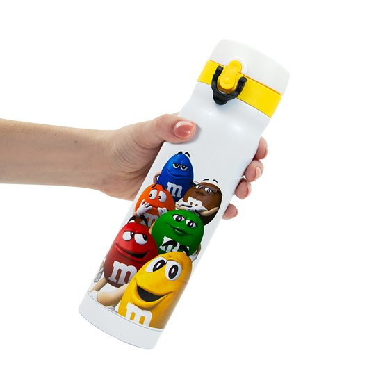 M&M'S Characters Flip Lid Bottle. Scale View