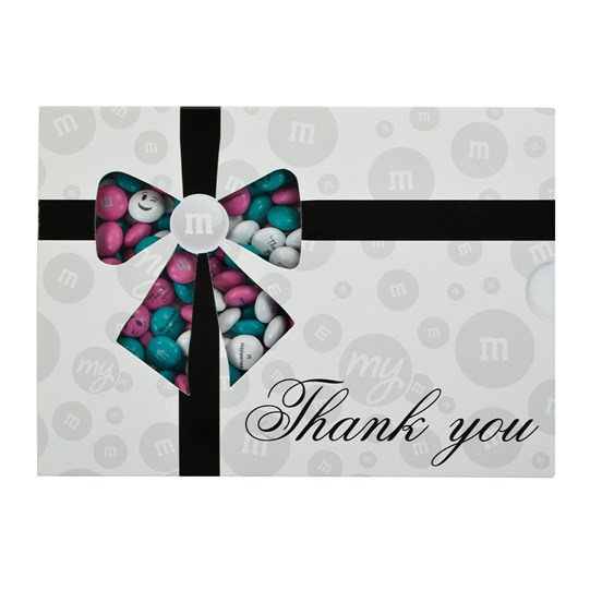 Personalizable M&M'S Thank You Gift Box