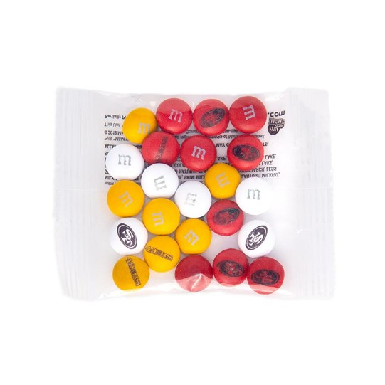 San Francisco 49ers NFL M&M'S Party Favor Pack