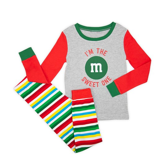 Girls M&M'S Holiday Lounge Set; Alt View