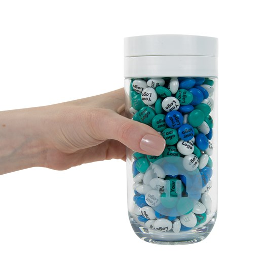 Personalizable M&M'S Business Gift Jar - Scale