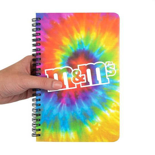 M&M'S Tie Dye Notebook - SCALE