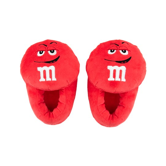 Youth M&M'S Character Slippers; Basic View