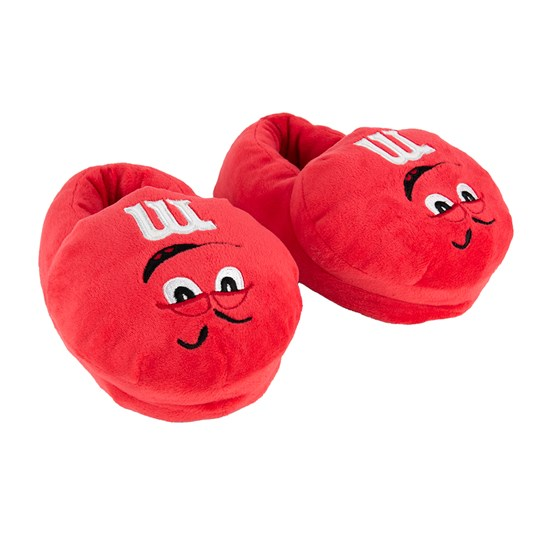 Youth M&M'S Character Slippers; Alt View