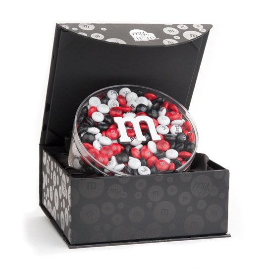 Tampa Bay Buccaneers NFL M&M'S Candy Acrylic in Black Gift Box