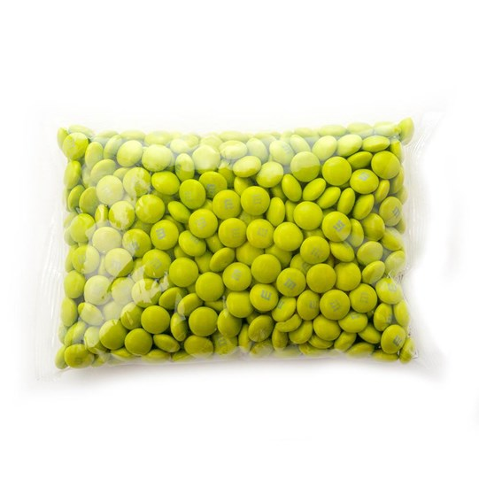 Electric Green M&M'S Bulk Candy 1lb