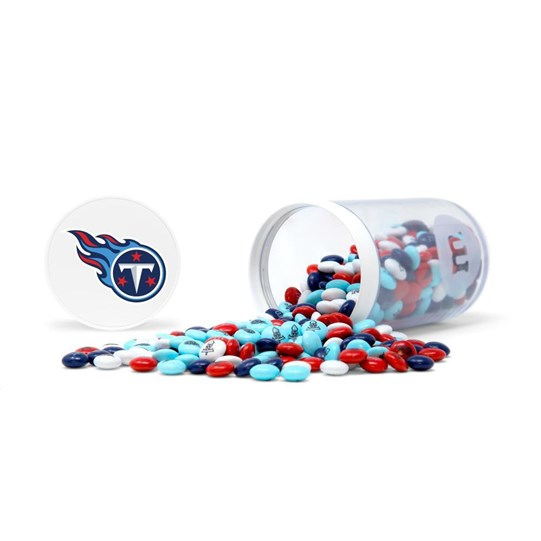 Tennessee Titans NFL M&M'S Candy Gift Jar - Candy spilled
