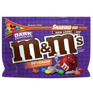 M M S Dark Chocolate Mint 9 6 Oz Bag Sharing Size M M S Mms Com