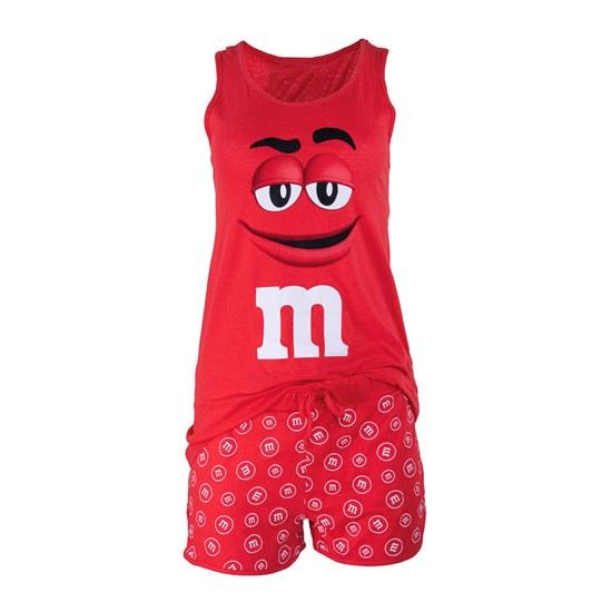 Ladies M&M'S Character Tank and Short