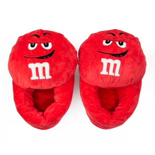 M&M'S Character Slippers, Front View of Pair of M&M'S Character Slippers