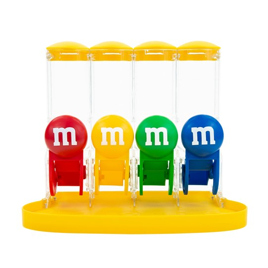 M&M'S Four Tube Dispenser - Front