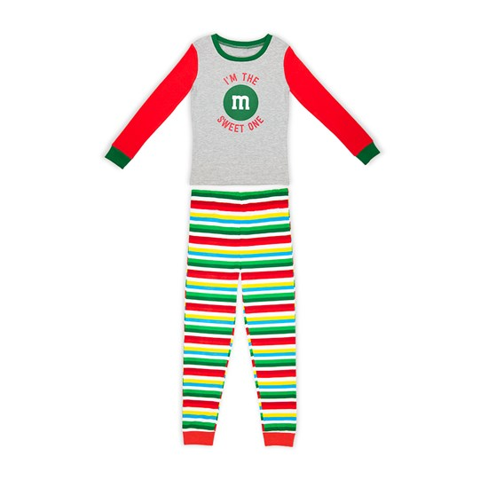 Girls M&M'S Holiday Lounge Set; Front View