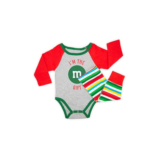 Infant M&M'S Holiday Lounge Set; Detail View