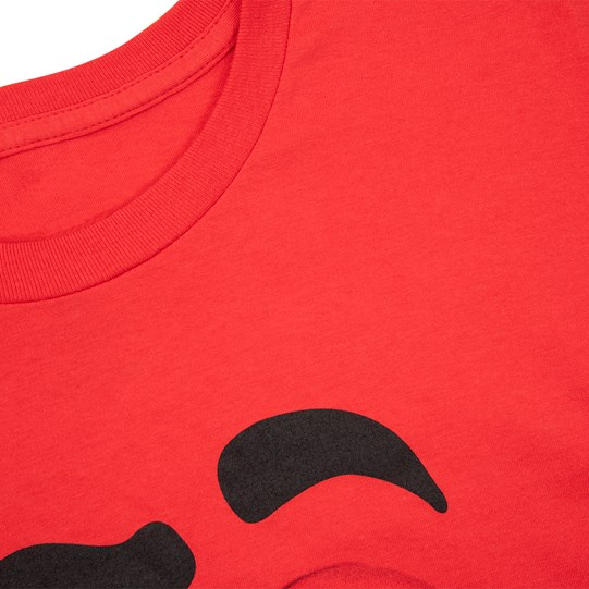 Adult M&M'S Character Big Face T-Shirt, Up Close Detailed View of T-Shirt and Character