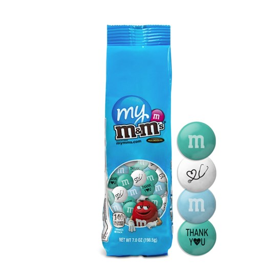 M&M'S Thank You Healthcare Heroes Gift Box; Alt View
