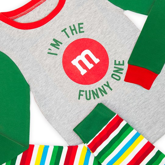Boys M&M'S Holiday Lounge Set; Detailed View