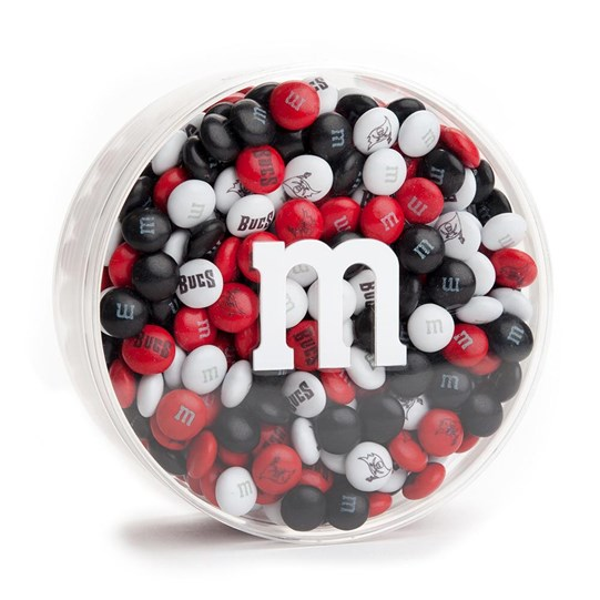 Tampa Bay Buccaneers NFL M&M'S Round Gift Box