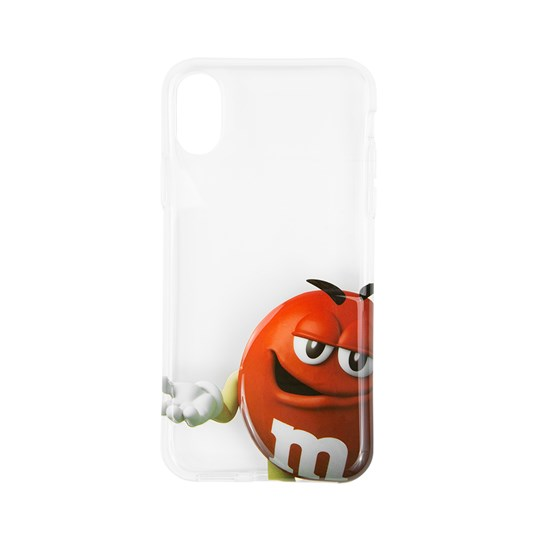 M&M'S Big Face Character iPhone Case - Red character