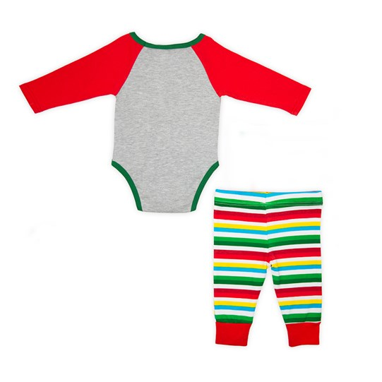 Infant M&M'S Holiday Lounge Set; Back View