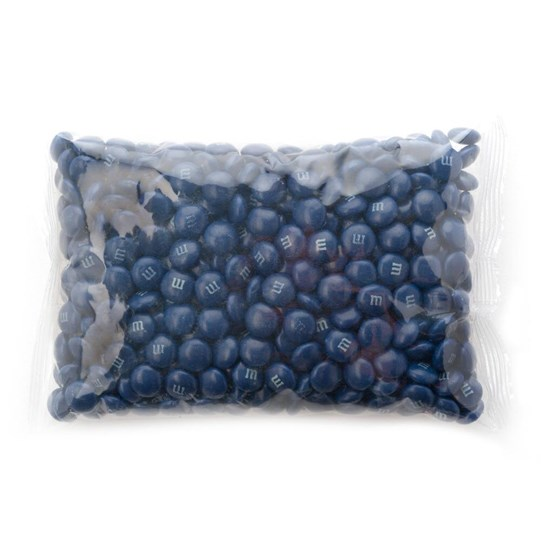 Dark Blue M&M'S Bulk Candy 1lb