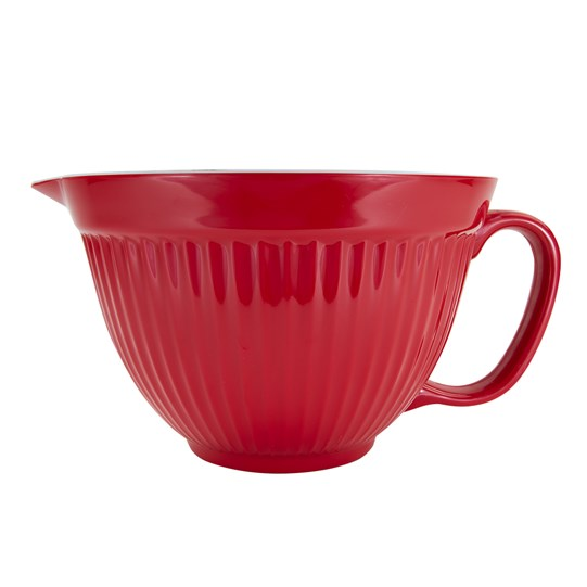 M&M'S Characters Mixing Bowl, Side View of Red Mixing Bowl & Handle